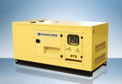 Energia elétrica silenciosa grupo gerador diesel automática e a Unidade de Controle do Gerador