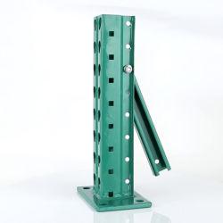 Amerikaabmontierbarer Teardrop-Loch-Stahlmetalllager-Speicher-Hochleistungsträger-Ladeplatten-Racking