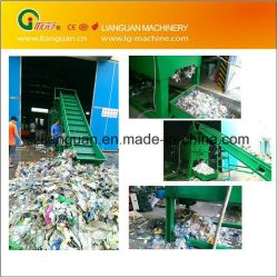 Afval PE PP Pet Milk Bottle Flakes maken van landbouwfilm Jumbo Woven zakken crushing waslijn kunststof recyclingmachine