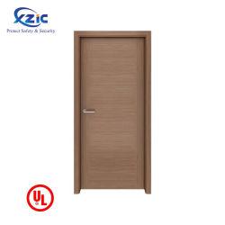 Xzic Engineered Natural veneered Apartment 실내 Fire Wood Door for 집