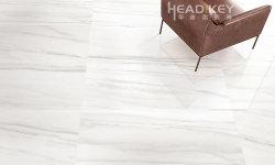 Venda a quente mármore Branco Porcelana polida para piso de mosaico Decoração 600X1200