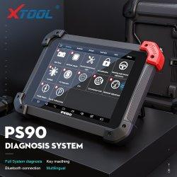 Xtool PS90 Auto диагностический прибор OBD2 Кодовые+ сканер сброс масла +АСТ + сброс давления в шинах
