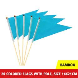 Custom считает Pennants флаг оптовой треугольник шерсть считает баннер