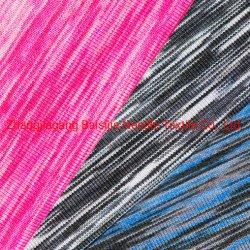 ポリエステルセクションによって着色される汗布