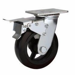 8 Polegadas Rodízios giratórios de Serviço Pesado com roda de borracha