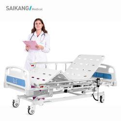 Letto di ospedale pieghevole elettrico di 3 funzioni delle attrezzature mediche dell'acciaio inossidabile della fabbrica di A6K con i fornitori delle macchine per colata continua