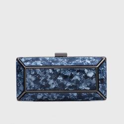 Ручной мешок Производитель, OEM/ODM оптовый завод, квадратная акриловая сумка муфты с металлической рамой Женская вечерняя сумка Party Clutch Lady Handbag
