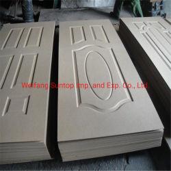 Pelle di legno laminata naturale del portello della melammina di Mouded HDF