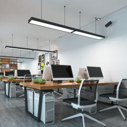 De binnenlandse LEIDENE van de Lamp van het Bureau van het Ontwerp Moderne Lineaire 32W 48W 65W Verlichting van de Tegenhanger