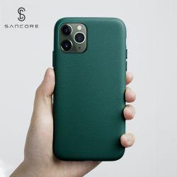 Napa Sancore verdadera piel iPhone11/PRO/Promax caso Teléfono