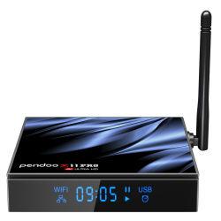 2.4G 5g Pendoo WiFi X11 PRO H616 Prix de vente d'Android débloquer couronne Amazon 2Go Live Converter Google TV Box 4 Go de RAM Octa Core