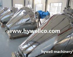 GMPの縦のリボンの薬剤のための混合の真空のドライヤー/より乾燥した乾燥機械
