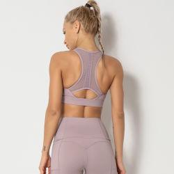 الصيف الملابس الداخلية للنساء الركض اليوجا اللياقة البدنية حمالة الصدر الرياضية الملابس روبا دي موجر