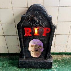 Van LEIDEN van de Ambachten van Polyresin Decoratie Halloween van de Schedel de Hoofd