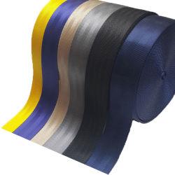 Custom 2 polegadas/poliéster Nylon Cinto de segurança automáticas, Carro de Serviço Pesado de tiras de tecido do cinto da China Fabricação