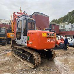 Hitachi EX120-5 utiliza excavadora, de segunda mano excavadora Hitachi EX120