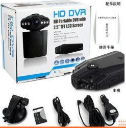 2,5'' CAR DVR F198 Versão Noite Carro Gravador de vídeo câmera 6 LED infravermelho Cardvr com melhor qualidade H198