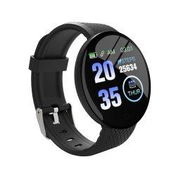 China Fornecedor de vigilância inteligente 1,3 polegada de relógios ecrã TFT Bluetooth 4.0 Pressão Arterial Freqüência Cardíaca Homens Mulheres Smart da Pulseira de vigilância inteligente