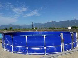 立場が付いている魚飼育用の水槽の池を耕作するFoldable PVCプラスチック防水シート