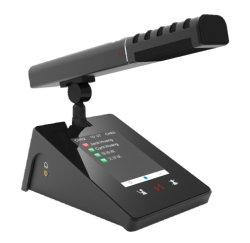 Système de conférence Vissonic multimédia numérique avec écran tactile Microphone filaire
