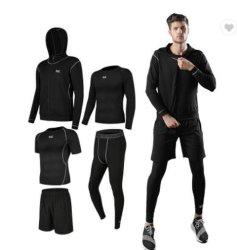رياضات رجال [جم] ملابس لياقة [يوغا] يرتدي رياضات [رورولة] [رورولة ملابس بدلة التمرين