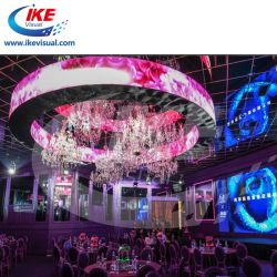 Placa de señal LED Flexible con efecto de movimiento P4 P6 P9 P10 Sign Borad de China