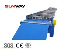 波形を付けられる二重層およびIbrを作る中国の前の工場台形金属機械を形作る鋼鉄屋根のパネルの壁シートロール