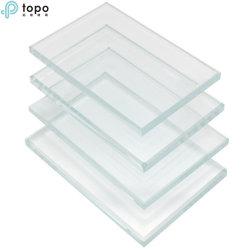 0.4mm 0.7mm 1.1mm 1.3mm 2.0mmの超明確で低い鉄の極めて薄い電子ガラス(UC-TP)