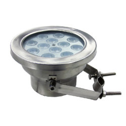 12W 18W 27W RGB 3NO1 PI68 debaixo de LED de luz interna direcionável