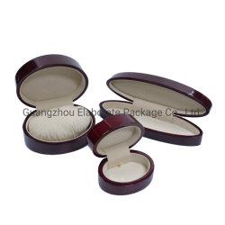 Elegante Piano cereja pequenas jóias de madeira MDF laca embalagem caixas de casamento dom por grosso