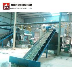 La Chine Prix Tube de l'eau industrielle 1 tonne de charbon automatique de la biomasse de 20 tonnes de granulés de bois Chaudière à vapeur alimentées au système