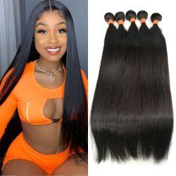 All'ingrosso Bundle di capelli economici peruviani migliori naturali capelli Remy brasiliano Trama grezza vergine grezza Wig 100% prolunga capelli umani Weave