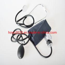 مقياس ضغط الدم مع منظار ثدي أحادي الرأسضغط الدم اليدوي المقياس