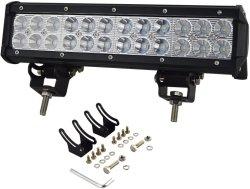 12 램프를 모는 트럭 차 ATV SUV 4X4 지프 트럭을%s 인치 72W 반점 플러드 결합 LED 일 표시등 막대