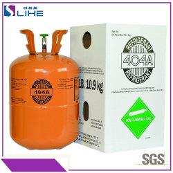 La congelación rápida de aire acondicionado Gas refrigerante R404A el freón