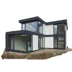 2021 Case moderne modulari prefabbricate antisismiche con 5 camere fuoco Casa di prova in Asia