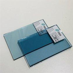 A Banda decorativa de vidro float com grande Crystal cor azul (C-CB)
