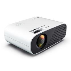 WiFi-projector 6000 lumens draadloos FHD-scherm grootste scherm spiegelen Smartphone kleinste uitklapbaar projectorscherm