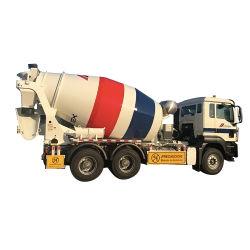 8m3 9m3 Betonmischermaschine Mischer-LKW im Betonmischer-LKW