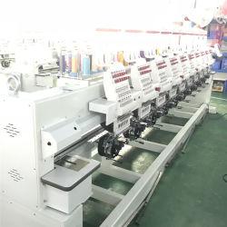 10 de bordados computarizado industrial jefe de la máquina de los precios de vestido de novia, sombrero, planas, Camisetas de fútbol