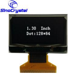 128*64 DOT Graphique OLED 4 fils du module interface série I2C 30 Broche écran monochrome d'affichage OLED 128X64