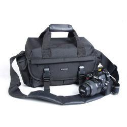 O dispositivo antichoque câmara DSLR Saco de ombro