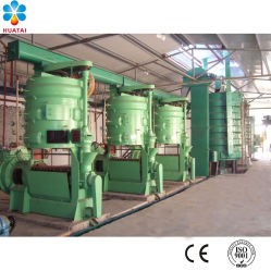 Касторовое масло Huatai Машина извлечения масла семян хлопчатника обработки масла машины растворитель масла для принятия решений