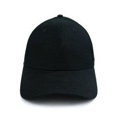 Algodón negro Sunbonnet Gorra de béisbol de la tapa de Hip Hop de la tapa exterior de la tapa de la playa de la tapa de Camper