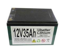 De vervanging 12V 35ah verzegelde Batterij van de Batterij van het Lood de Zure Zonne Lichte