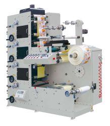 Impresora de Flexo del Papel de Escritura de la Etiqueta de la Etiqueta Engomada del Color de Rtry-320d 4