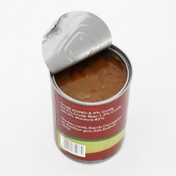 375g de gros morceaux de poulet la nourriture humide des aliments pour animaux