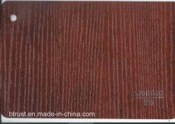 De houten Film/de Folie van pvc van de Korrel Decoratieve voor Pers van het Membraan van het Kabinet/van de Deur de Vacuüm