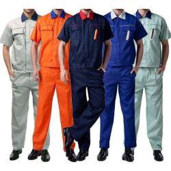 100% coton antistatique Fonction retardateur de flamme d'armure sergé tissu Vêtements de travail