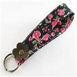 Supporto chiave del tessuto per la promozione su ordinazione di modo del metallo del regalo del ricordo